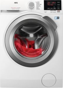 AEG Freestanding Washing Machine L6FBG842R - White