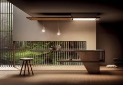 Elica Ceiling Integrated LULLABY-NAT-DO - Natural Oak Finish