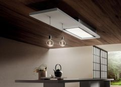 Elica Ceiling Integrated LULLABY-WW-RC - White Wood Finish