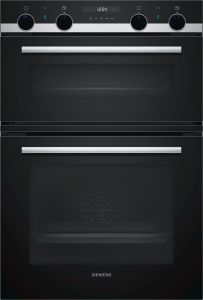 Siemens Double B/I Oven Electric MB557G5S0B - Black / Stainless Steel