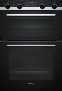 Siemens Double B/I Oven Electric MB578G5S0B - Black / Stainless Steel