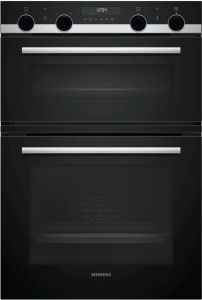 Siemens Double B/I Oven Electric MB578G5S6B - Black / Stainless Steel