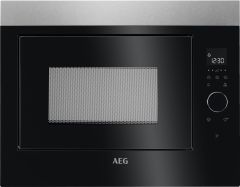 AEG Microwave MBE2658SEM - Black / Stainless Steel