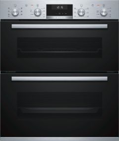 Bosch Double B/U Oven Electric NBA5350S0B - Stainless Steel