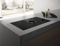 Elica Hood & Cooktop NT-ONE-DO - Black