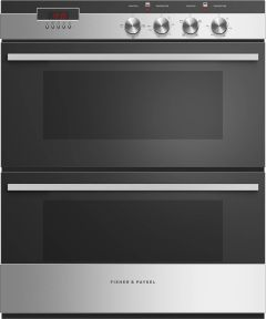 Fisher & Paykel Double B/U Oven Electric OB60HDEX4 - Stainless Steel