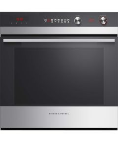 Fisher & Paykel Single Oven Electric OB60SC7CEPX1-EX-DISPLAY - Stainless Steel / Black Glass