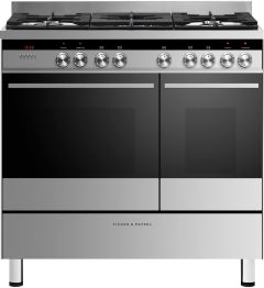 Fisher & Paykel Range Cooker Dual Fuel OR90L7DBGFX1 - Stainless Steel