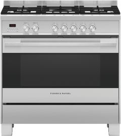 Fisher & Paykel Range Cooker Dual Fuel OR90SDG4X1 - Stainless Steel