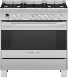 Fisher & Paykel Range Cooker Dual Fuel OR90SDG6X1 - Stainless Steel