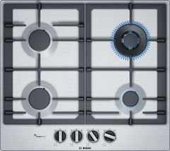Bosch Gas Hob PCH6A5B90 - Stainless Steel