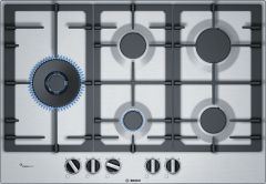 Bosch Gas Hob PCS7A5B90 - Stainless Steel
