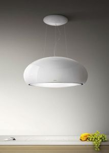 Elica Ceiling Mounted Hood PEARL-WH - White