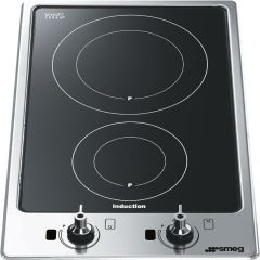 Smeg Induction Domino PGF32I-1 - Stainless Steel