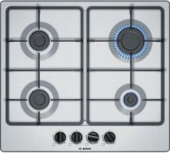 Bosch Gas Hob PGP6B5B60 - Stainless Steel