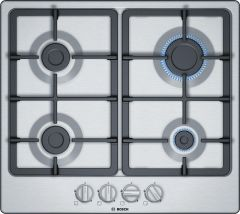 Bosch Gas Hob PGP6B5B90 - Stainless Steel
