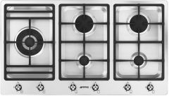 Smeg Gas Hob PS906-5 - Stainless Steel