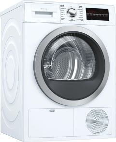 NEFF Freestanding Condenser Tumble Dryer R8580X3GB - White