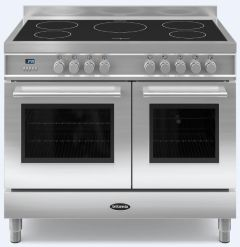 Britannia Range Cooker Induction RC-10TI-QL-S - Stainless Steel