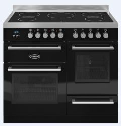 Britannia Range Cooker Induction RC-10XGI-QL-K - Gloss Black