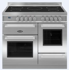 Britannia Range Cooker Induction RC-10XGI-QL-S - Stainless Steel