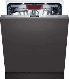 NEFF Built In 60 Cm Dishwasher Fully S187ECX23G - Fully Integrated