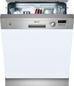 NEFF Built In 60 Cm Dishwasher Semi S41E50N1GB - Stainless Steel