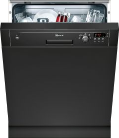 NEFF Built In 60 Cm Dishwasher Semi S41E50S1GB - Black