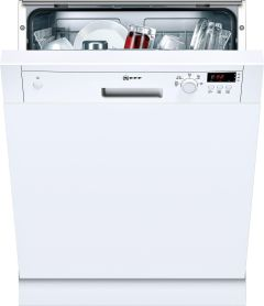 NEFF Built In 60 Cm Dishwasher Semi S41E50W1GB - White