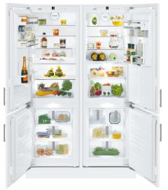 Liebherr Built In Fridge Freezer Frost Free SBS66I3 - Fully Integrated