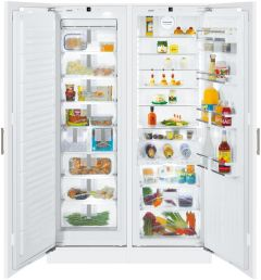 Liebherr Built In Fridge Freezer Frost Free SBS70I4 - Fully Integrated