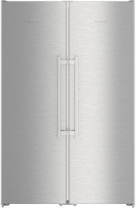 Liebherr Freestanding Fridge Freezer Frost Free SBSEF7242 - Stainless Steel Doors