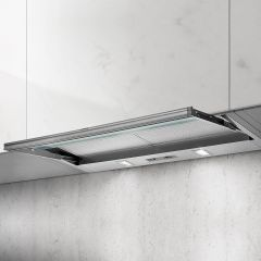 Elica Telescopic Hood SKLOCK-LED-90 - Silver