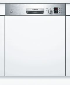 Bosch Built In 60 Cm Dishwasher Semi SMI50C15GB - Stainless Steel