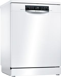 Bosch Freestanding 60 Cm Dishwasher SMS67MW01G - White