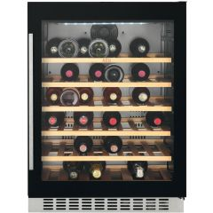 AEG Built In Wine Cooler SWE66001DG - Black / Glass