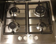 NEFF Gas Hob T26BB59N0-EX-DISPLAY - Stainless Steel
