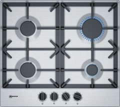 NEFF Gas Hob T26DS49N0 - Stainless Steel