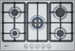 NEFF Gas Hob T27BB59N0 - Stainless Steel