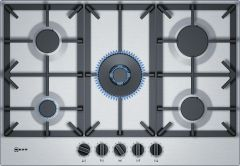 NEFF Gas Hob T27DS59N0 - Stainless Steel