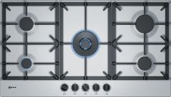 NEFF Gas Hob T29DS69N0 - Stainless Steel