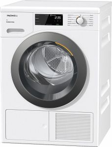 Miele Freestanding Condenser Tumble Dryer Heat Pump TCF640WP - White
