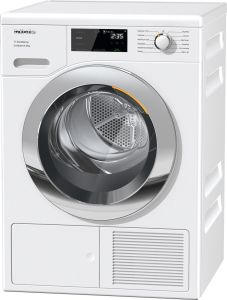 Miele Freestanding Condenser Tumble Dryer Heat Pump TEF645WP - White
