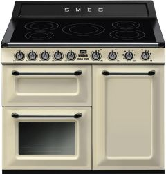 Smeg Range Cooker Induction TR103IP - Cream