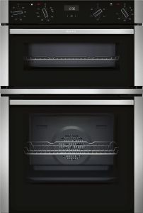 NEFF Double B/I Oven Electric U1ACE2HN0B - Stainless Steel / Black