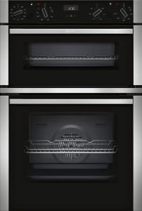 NEFF Double B/I Oven Electric U1ACE5HN0B - Stainless Steel / Black