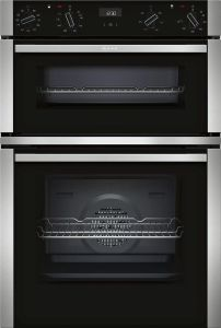 NEFF Double B/I Oven Electric U1ACI5HN0B - Stainless Steel / Black