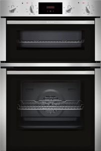 NEFF Double B/I Oven Electric U1CHC0AN0B - Stainless Steel