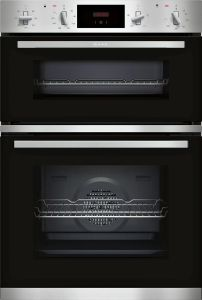 NEFF Double B/I Oven Electric U1GCC0AN0B - Stainless Steel / Black