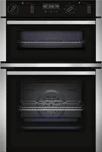 NEFF Double B/I Oven Electric U2ACM7HH0B - Stainless Steel